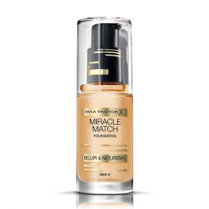Max Factor Miracle Match Foundation 47 Nude 30ml