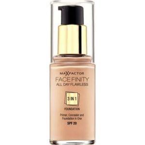 Max Factor Facefinity All Day Flawless 3 In 1 Foundation SPF20 60 Sand 30ml