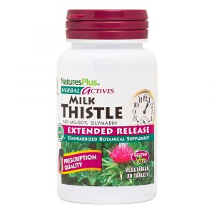 Natures Plus Milk Thistle 500mg Extended Release 30 Κάψουλες