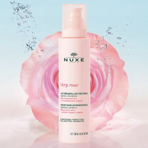 Nuxe Very Rose Creamy Make Up Remover Milk Κρεμώδες Γαλάκτωμα Ντεμακιγιάζ 200ml