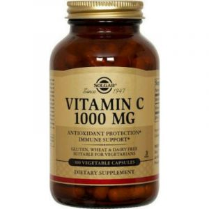 Solgar Vitamin C 1000Mg Vegetable 100 Caps