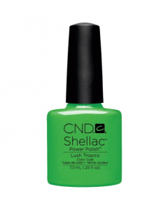 CND Shellac Lush Tropics Power Polish Color Coat Ημιμόνιμο Βερνίκι 7.3ml