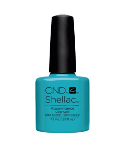 Cnd Shellac Aqua - Intance Color Coat 7 Ημιμόνιμο Βερνίκι 7.3ml