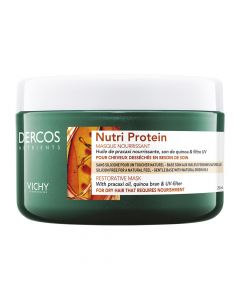 Vichy Dercos Nutrients Μάσκα Μαλλιών Αναδόμησης Nutri Protein 250ml