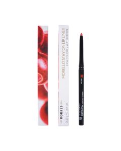 Korres Morello Stay-On Lip Liner Μολύβι Χειλιών 02 Real Red 1 Τμχ