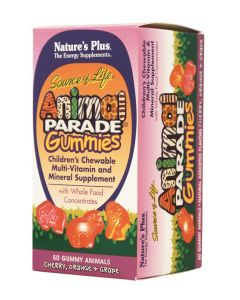Natures Plus Animal Parade Gummies 50 Μασώμενα - Chewable Ζελεδάκια