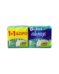 always-ultra-1-1-doro-serbietes-instant-dry-normal-2x10tmch