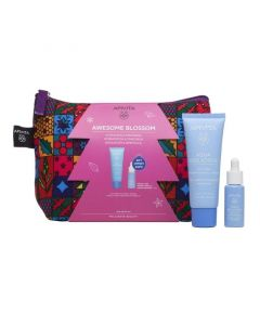 Apivita Aqua Beelicious Awesome Blossom Set   Κρέμα-Gel Πλούσιας Υφής 40ml ΔΩΡΟ Mini Booster 10ml | Dpharmacy.gr