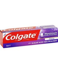 Colgate Cavity Protection Whitening Οδοντόκρεμα 75ml