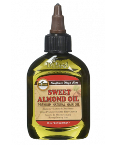 Difeel Sunflower Premium Natural Hair Oil Sweet Almond 75ml