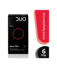 Duo Extra Thin Προφυλακτικά 6 τμχ