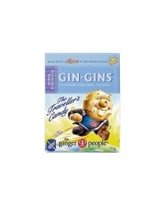 Gin Gins Boost Ginger Candy Παστίλιες Για Ναυτία Δυσπεψία & Πονόλαιμο 31gr