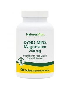 Nature's Plus Dyno-Mins Magnesium Μαγνήσιο 250mg