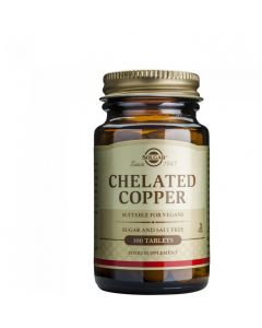 Solgar Chelated Copper 2,5mg 100 Ταμπλέτες