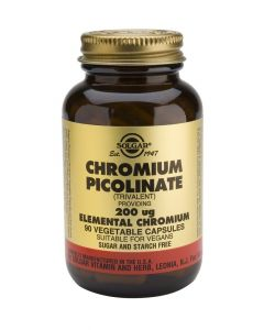Solgar Chromium Picolinate 200mg veg. 90caps