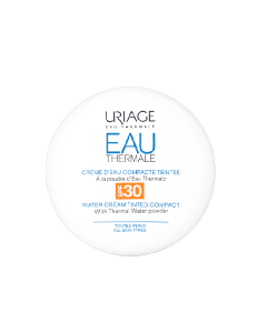 Uriage Eau Thermale Water Cream Tinted Compact Spf30 Κρέμα Ενυδάτωσης με Χρώμα 10Gr