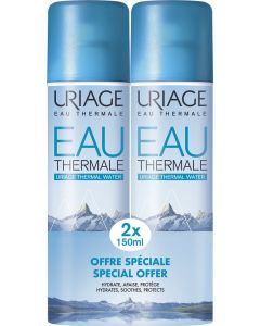 Uriage Eau Thermale Water Ιαματικό Νερό 2x150ml